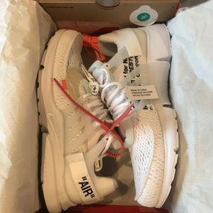 "Other - Off-White Nike Air Presto ""WHITE"""